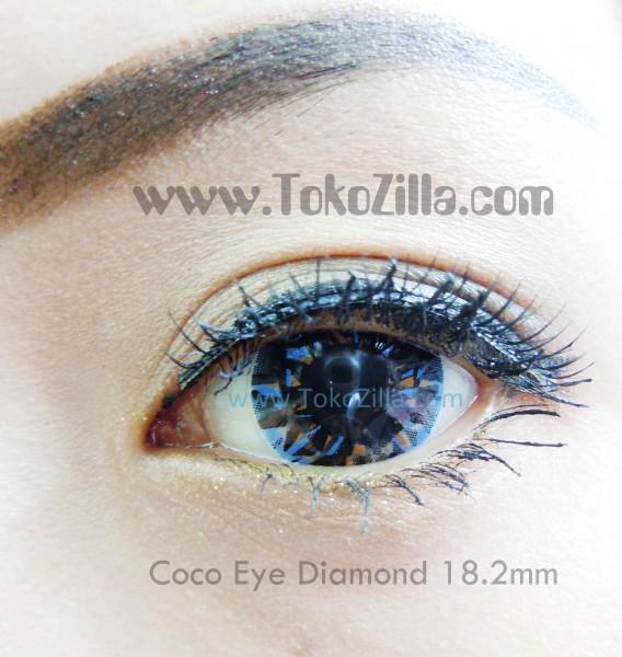 detail coco eye diamond blue