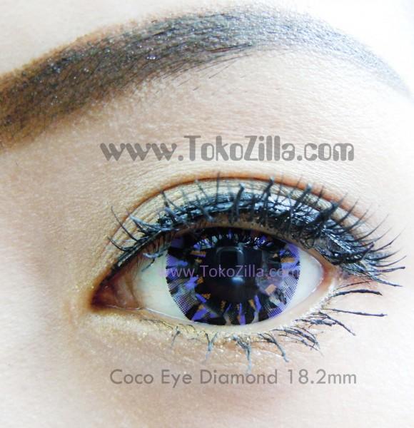 detail coco eye diamond violet