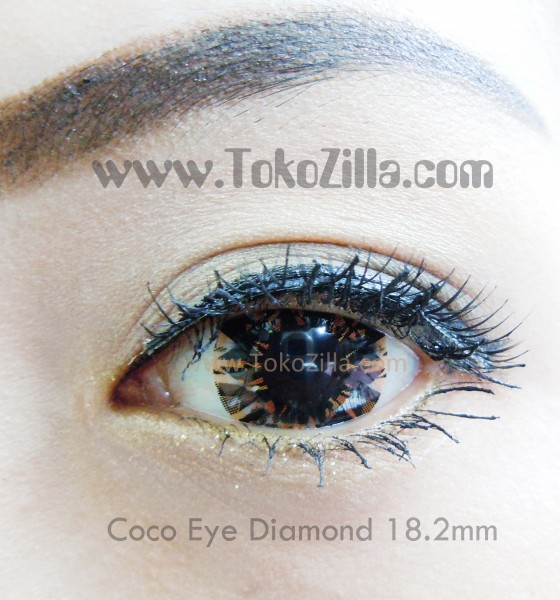 detail coco eye diamond brown