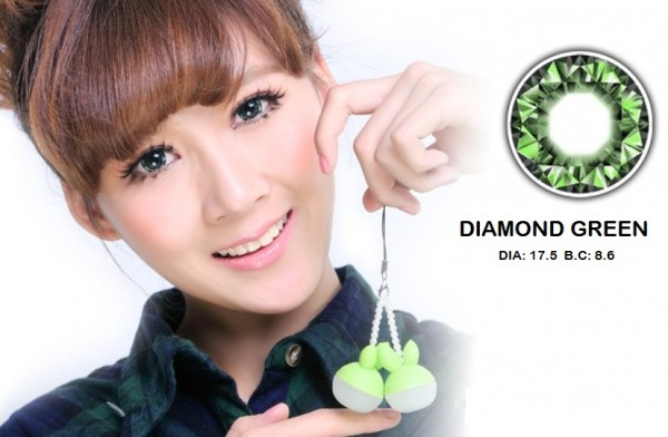 barbie diamond green