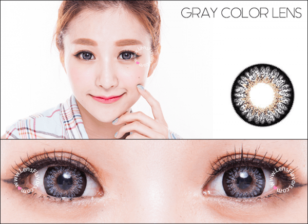 softlens geo princess mimi grey