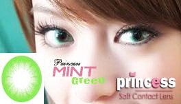 princess mint green
