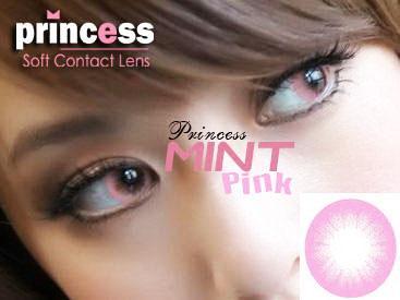princess mint pink
