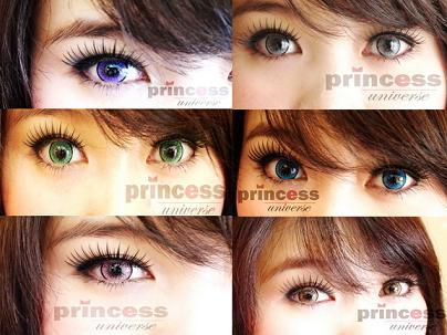 princess universe softlens all color