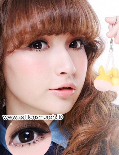softlens barbie princess lace choco 2