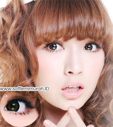 softlens barbie princess lace brown 2