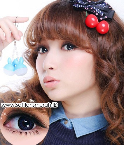 softlens barbie princess lace blue 2