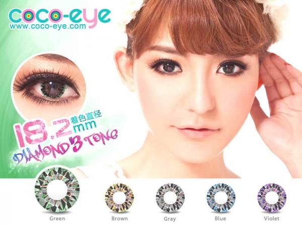 coco eye diamond green