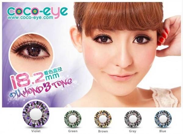 coco eye diamond violet