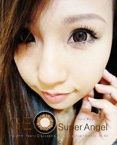 softlens geo super angel brown