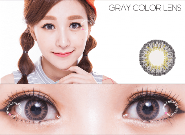 softlens geo magic 3 tone grey, softlens abu abu cantik