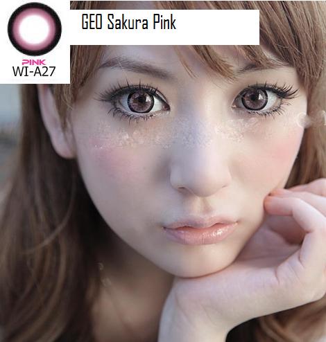 geo sakura pink
