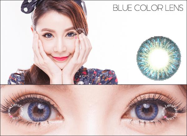 softlens geo magic 3 tone blue