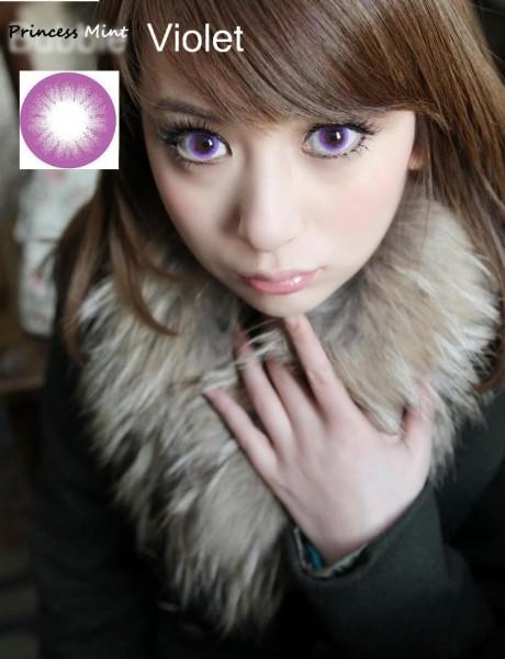 princess mint violet