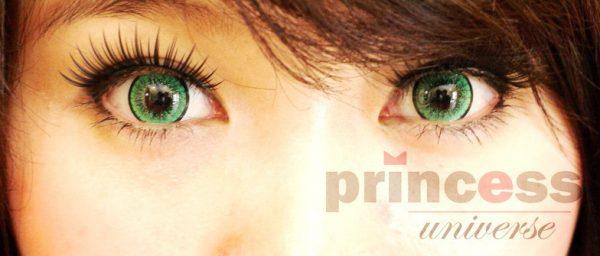 softlens princess universe green