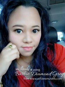 review barbie diamond grey sis rahma