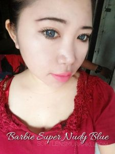 review barbie super nudy blue