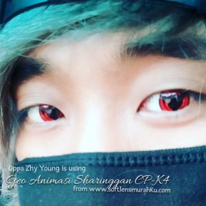 review geo anime sharingan cp-k4 by oppa zhy young