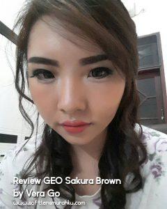 review geo sakura brown sis vera go