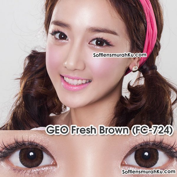 softlens silinder geo toric fc-724 fresh brown