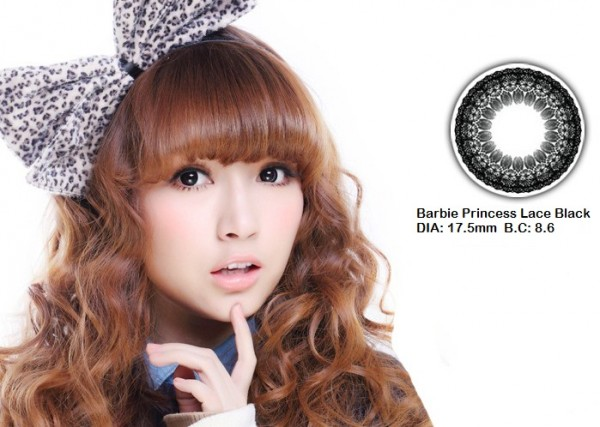 softlens barbie princess lace black