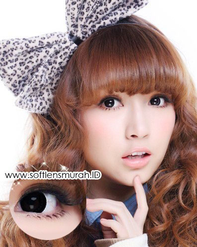 softlens barbie princess lace black 2
