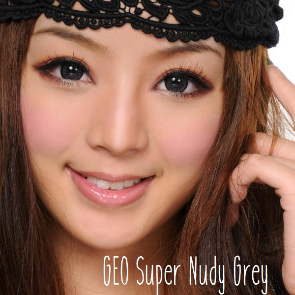 softlens geo super nudy grey
