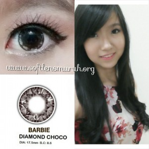 testimoni softlens barbie diamond choco