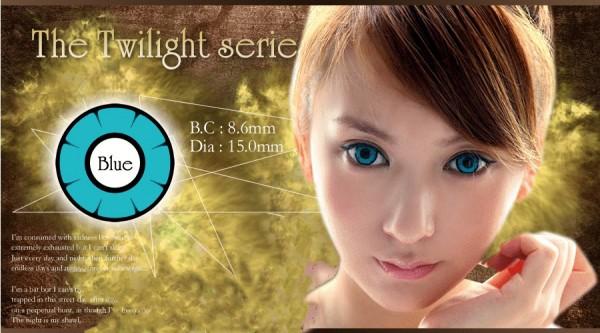 softlens twilight anime blue