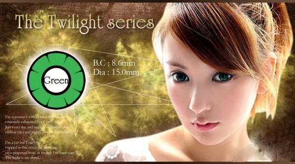 softlens twilight anime green