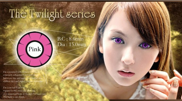 softlens twilight anime pink