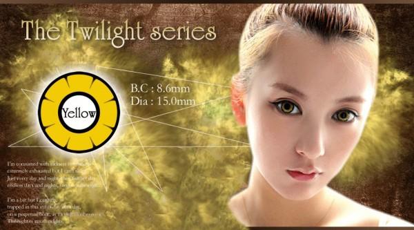 softlens twilight anime yellow