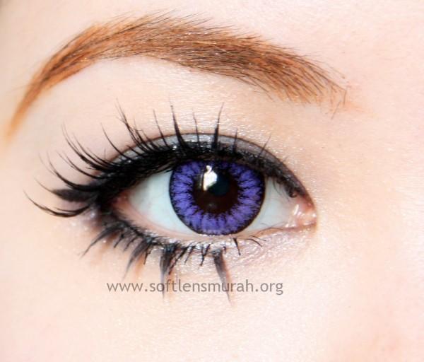 diva queen softlens violet