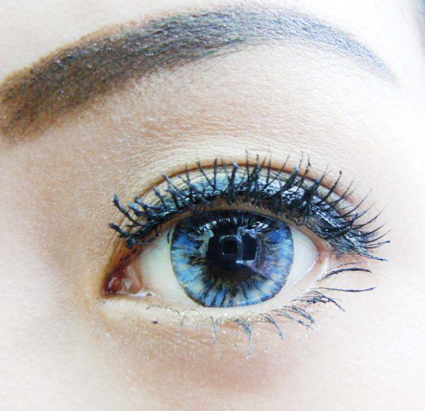 softlens vivian eye pineapple blue