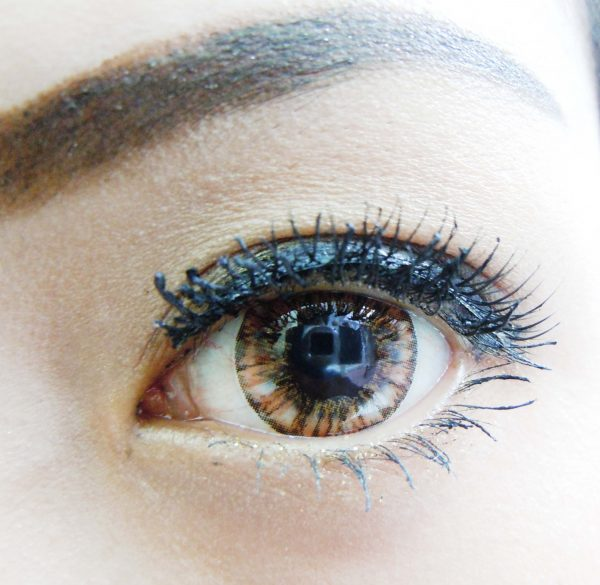 softlens vivian eye pineapple brown