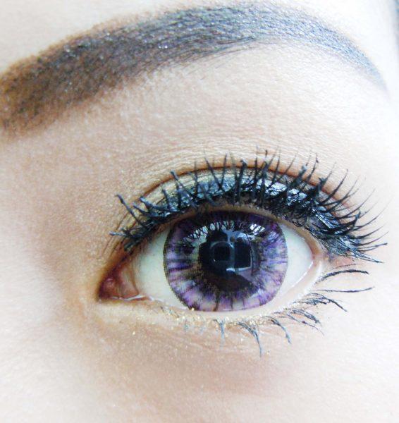 softlens miss eye vivian eye pineapple violet