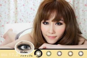 Softlens Vivian Eye Pineapple 17.2mm