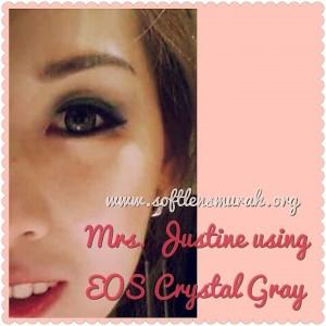 testimoni softlens eos crystal gray