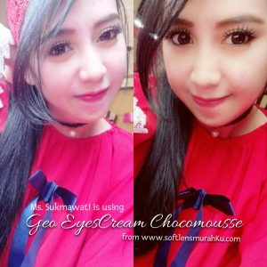review geo eyescream chocomousse sis sukmawati