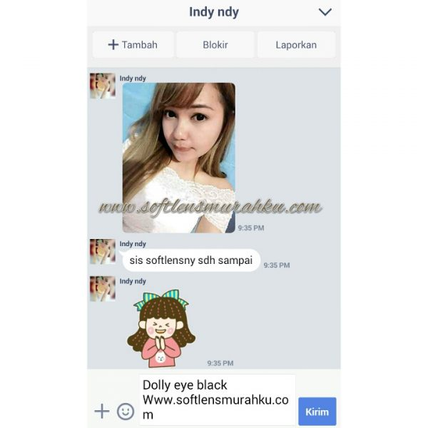 testimoni dolly eye sis lindy