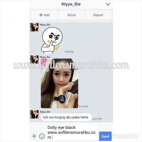 testimoni dolly eye sis nia