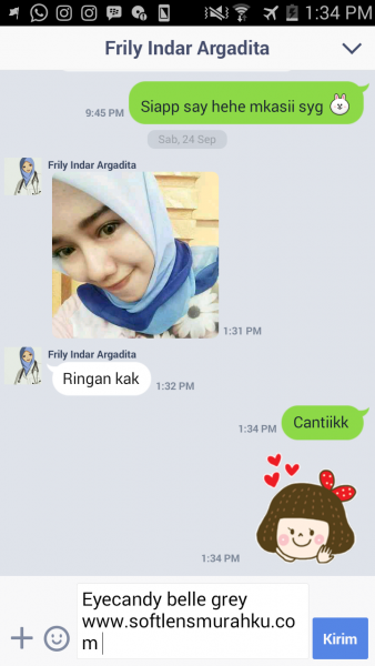 testimoni eye candy belle