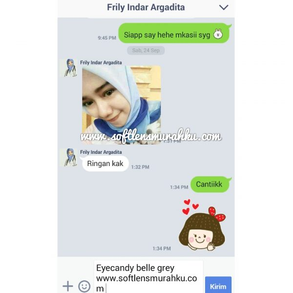 testimoni eye candy belle sis frily