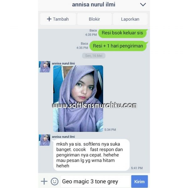 testimoni geo magic 3 tone sis annisa (2)