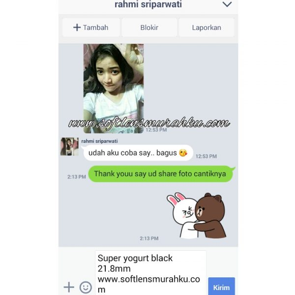 testimoni super yogut black sis rahmi