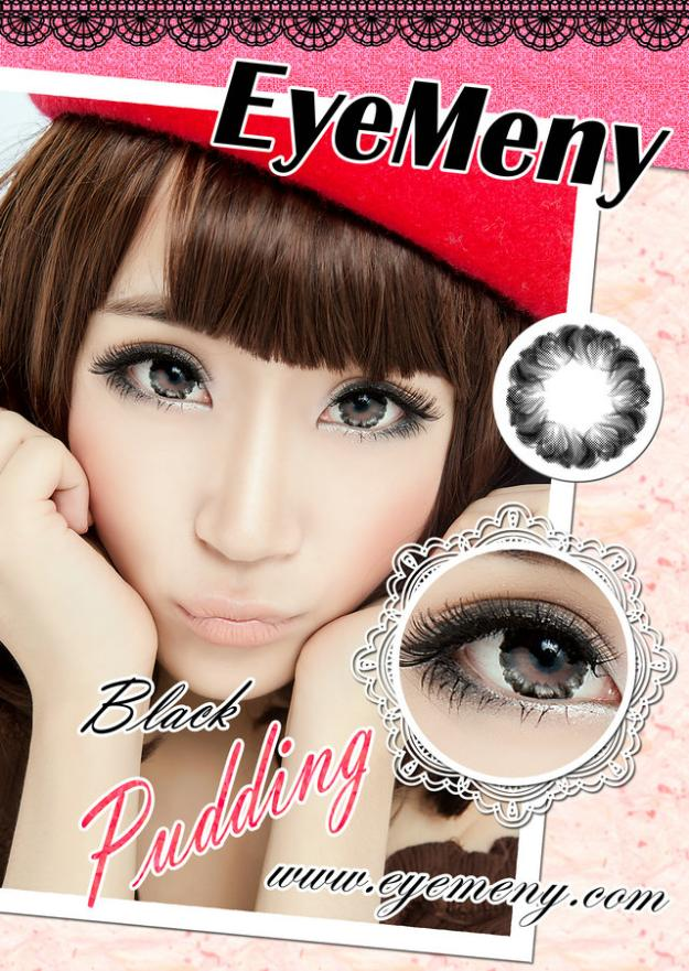 eyemeny pudding black