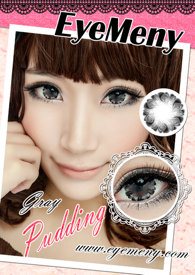 eyemeny pudding gray