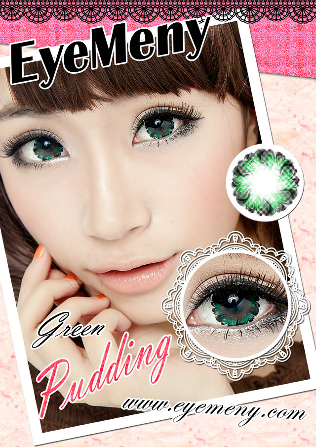 eyemeny pudding green
