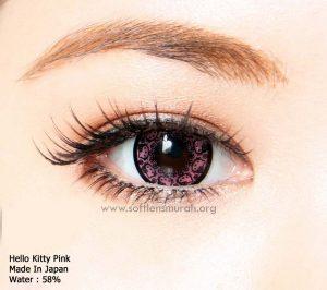 Softlens Pink (Merah Muda)