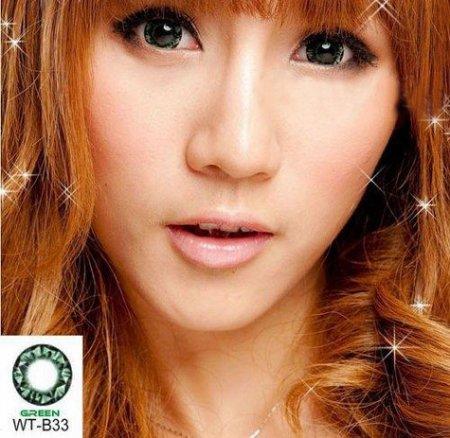 geo diamond green